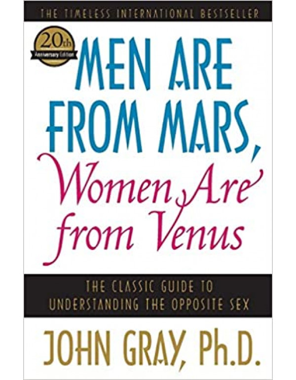 Men Are from Mars, Women Are from Venus by John Gray (0060574216) (9780060574215)