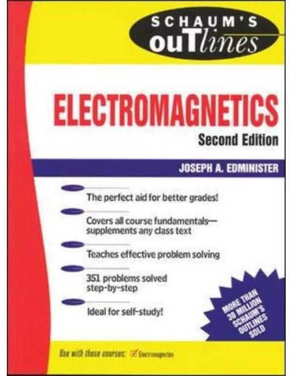 ELECTRO MAGNETICS By Edminister, Joseph (0070212341) (9780070606609)