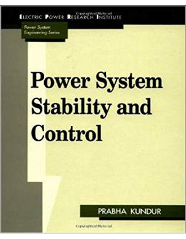 power system stability and control By Kundur, Prabha (007035958X) (9780070635159)