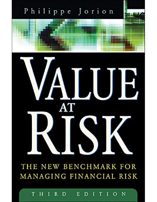 value at risk- 3rd edition By Jorion, Philippe (0071464956) (9780070700420)