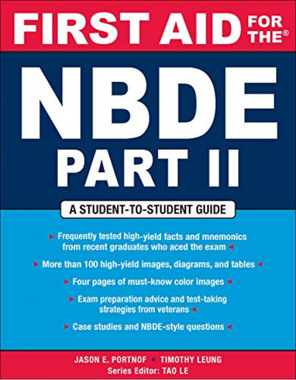 First Aid for the NBDE Part II (First Aid Series) (Pt. 2) By Portnof, Jason (0071482539) (9780071482530)
