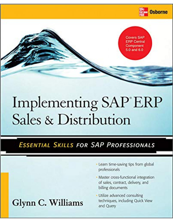 IMPLEMENTING SAP ERP SALES& DISTRIBUTION By Glynn C. Williams (0071497056) (9780070264847)