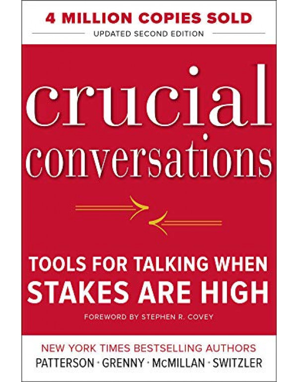 CRUCIAL CONVERSATIONS 2E By Patterson, Kerry (0071771328) (9780071771320)
