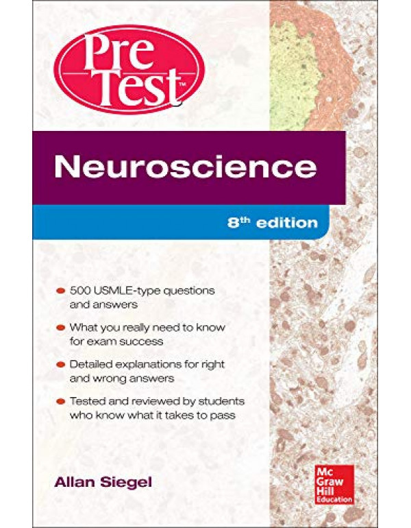 Neuroscience Pretest Self-Assessment and Review, 8th Edition By Siegel, Allan (0071791078) (9780071791076)