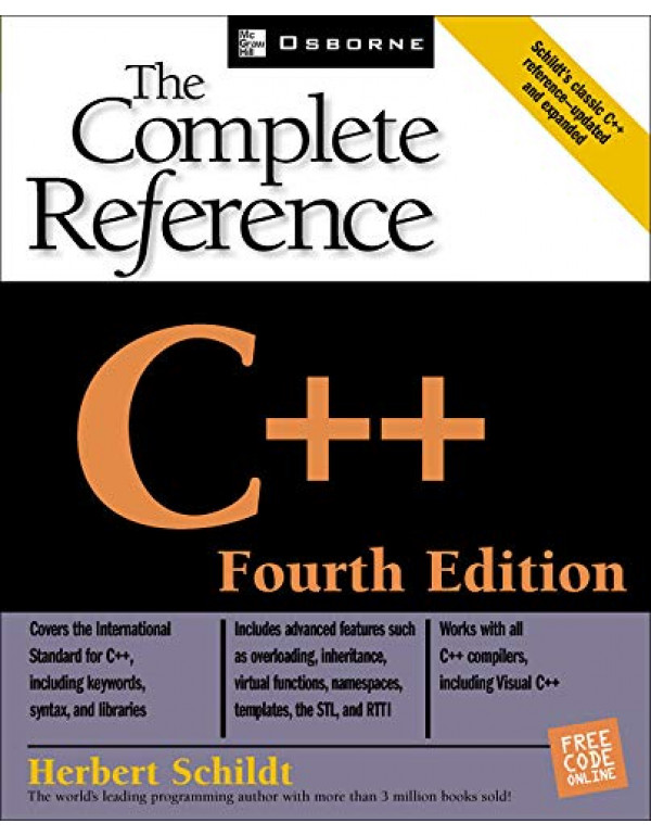 C++: THE COMPLETE REFERENCE By Schildt, Herbert (0072226803) (9780070532465)