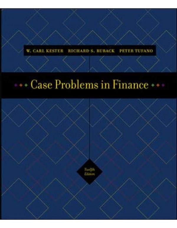CASE PROBLEMS IN FINANCE - CD-ROM - SIE By Kester,Carl (0072977299) (9780072977295)