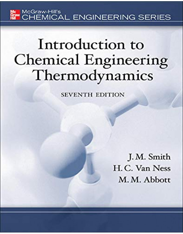 INTRO TO CHEM ENGG THERM By Smith, J.M. (0073104450) (9780070145870)