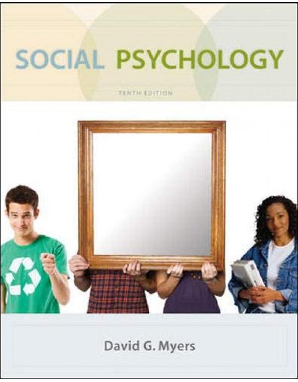 SOCIAL PSYCHOLOGY By David G. Myers (0073370665) (9780071078092)