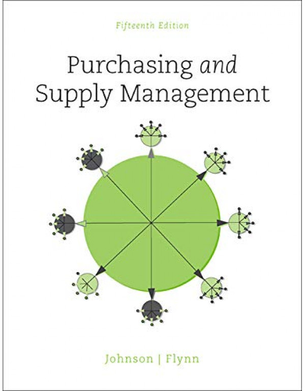 Purchasing and Supply Management By Johnson, P. Fraser (0078024099) (9780078024092)