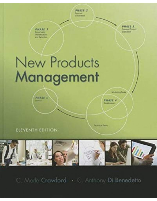 New Products Management By Crawford, C. Merle (007802904X) (9780078029042)
