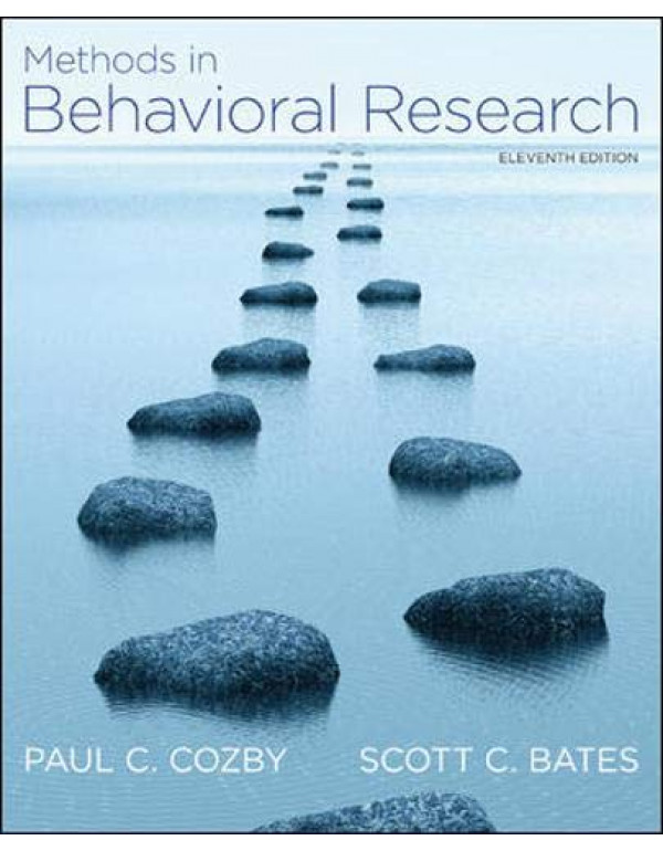 Methods In Behavioral Research 11Th Edition By Cozby, Paul C. (0078035155) (9780071086288)