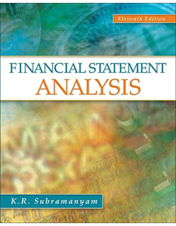 Financial Statement Analysis By Subramanyam, K. R. (0078110963) (9780078110962)