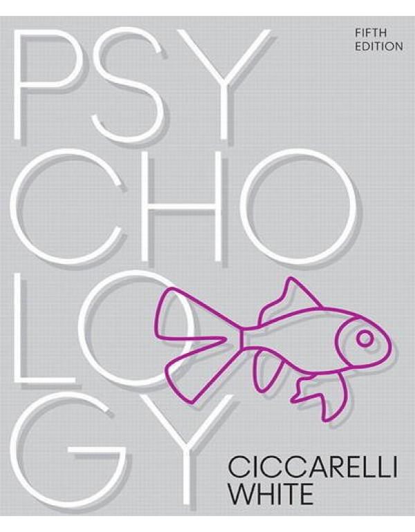 Psychology By Ciccarelli, Saundra (0134477960) (9780134477961)
