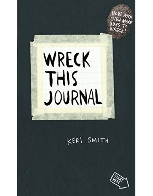 Wreck This Journal By Smith, Keri (0141976144) (9780141976143)