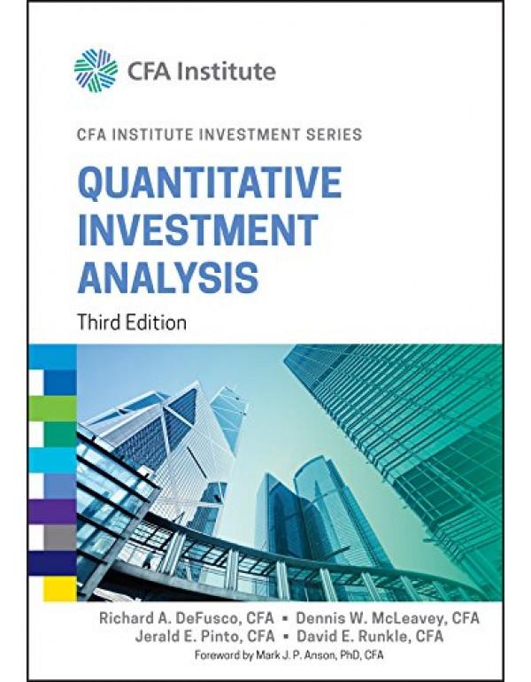 Quantitative Investment Analysis By DeFusco, Richard A. (111910422X) (9788126564699)