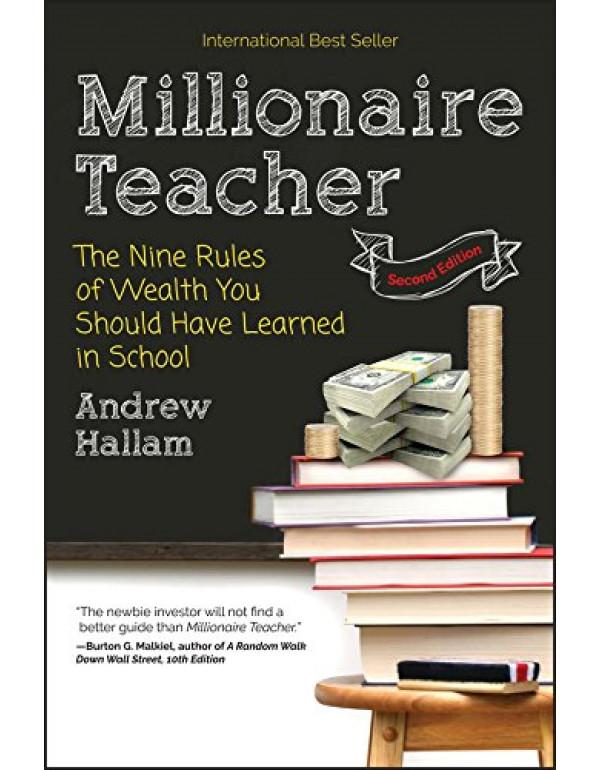 Millionaire Teacher By Hallam, Andrew (1119356296) (9781119356295)