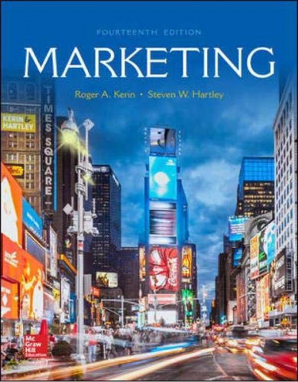 Marketing By Kerin, Roger (1259924041) (9781259924040)