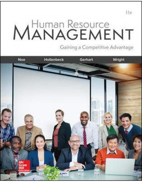 Human Resource Management By Raymond Andrew, Hollenbeck, John R., Gerhart, Barry, Wright, Patrick M. Noe (1260076849) (9781260076844)