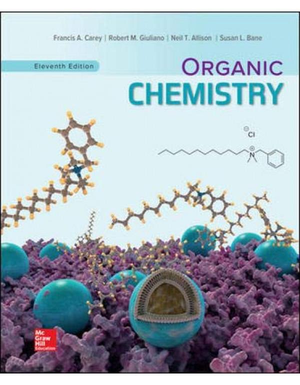 Organic Chemistry By Carey, Francis (1260148920) (9781260148923)