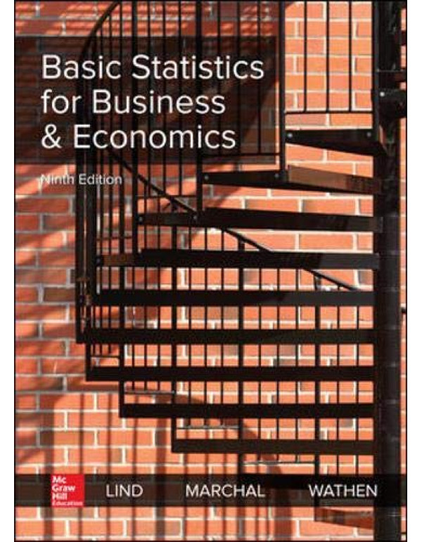 Basic Statistics for Business and Economics By Lind, Douglas (1260187500) (9781260187502)