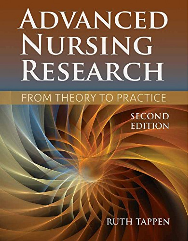 Advanced Nursing Research By Tappen, Ruth M. (1284...