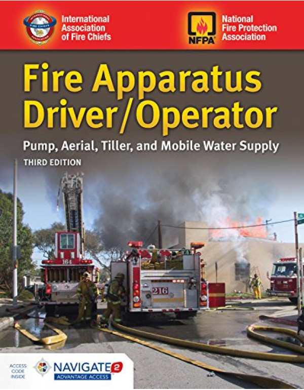Fire Apparatus Driver/Operator By Iafc (1284147614) (9781284147612)