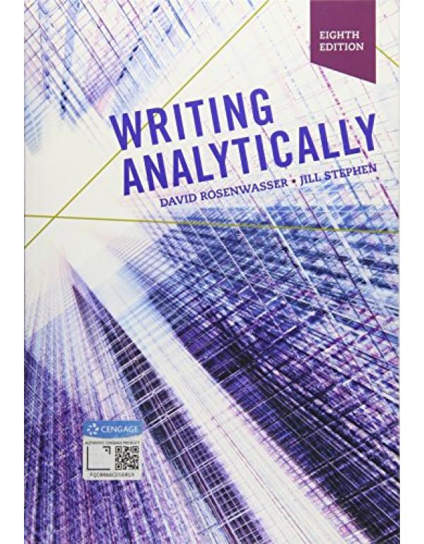 Writing Analytically with APA 7e Updates by David Rosenwasser,  Jill Stephen 8th Edition (1337559466) (9781337559461)