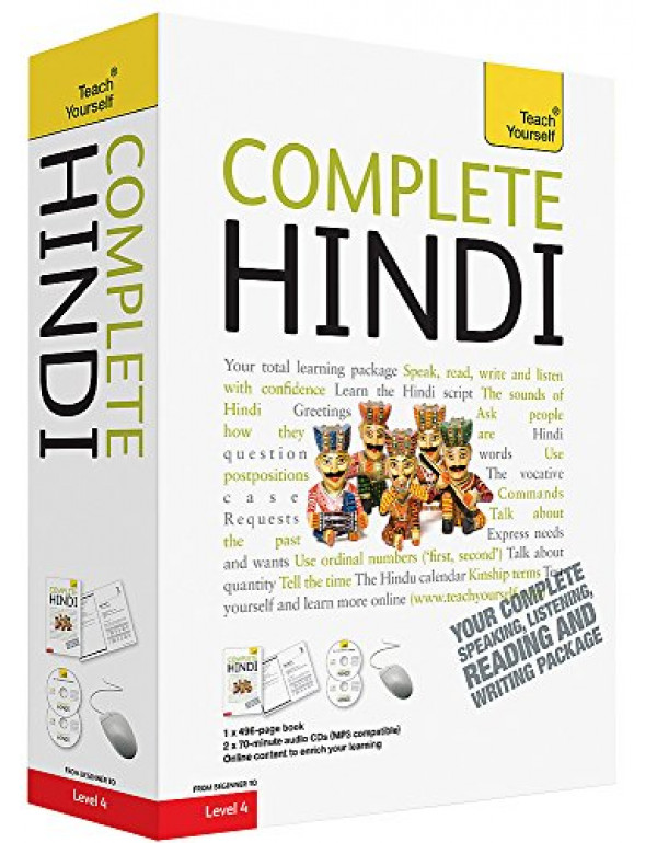 Complete Hindi Beginner to Intermediate Course By Snell, Rupert (144410683X) (9781444106831)