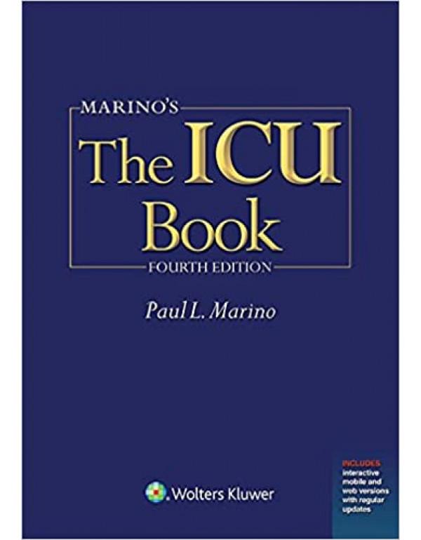The ICU Book by Paul L. Marino (1451121180) (9781451121186)