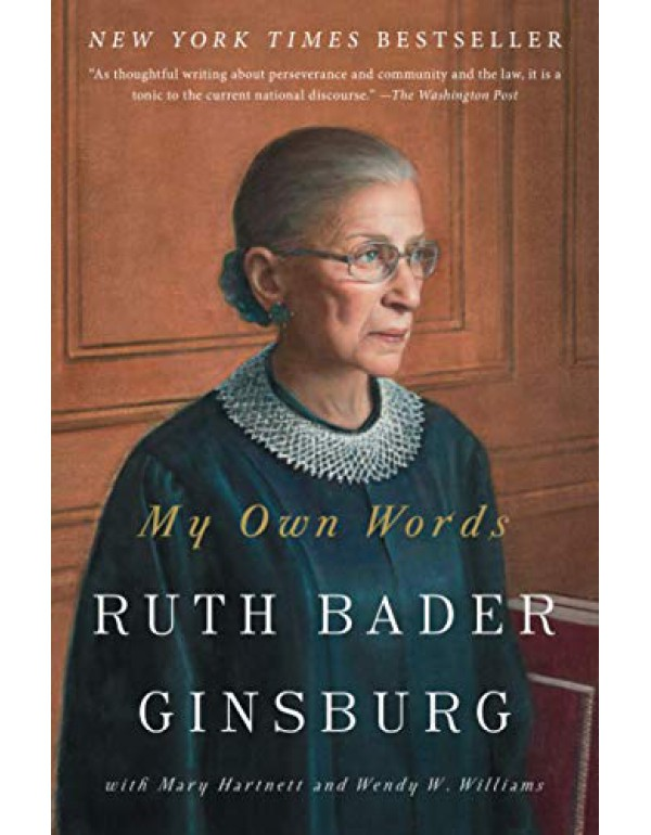 My Own Words By Ginsburg, Ruth Bader (1501145258) ...