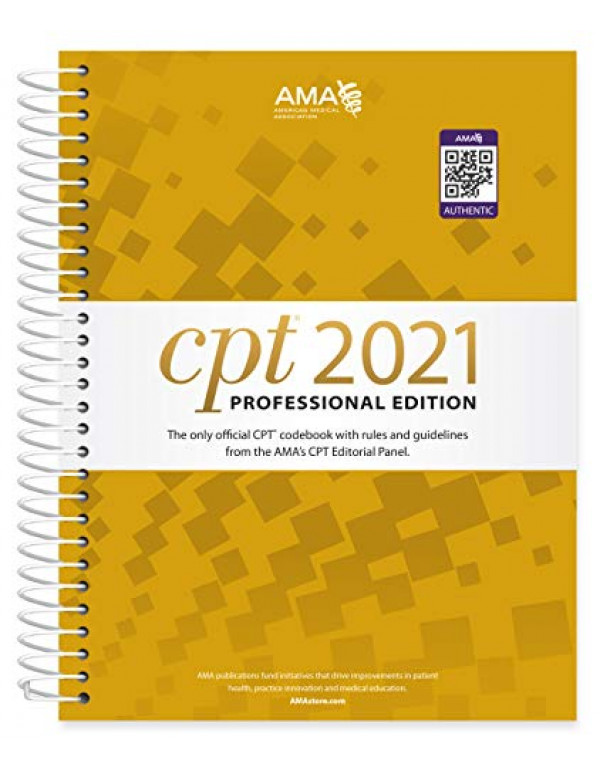 CPT 2021 Professional Edition By American Medical ...