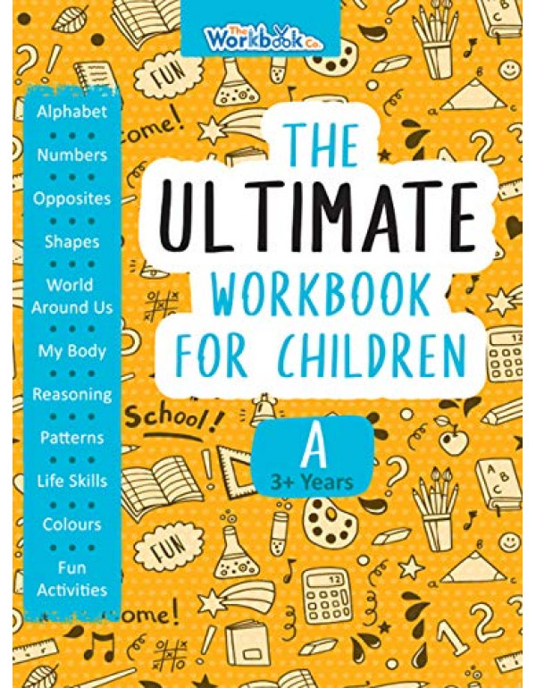 The Ultimate Workbook for Children 3-4 Years Old By Team Pegasus