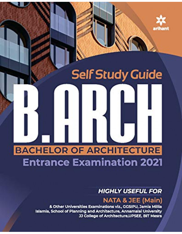 Study Guide for B.Arch 2021 By Arihant Experts