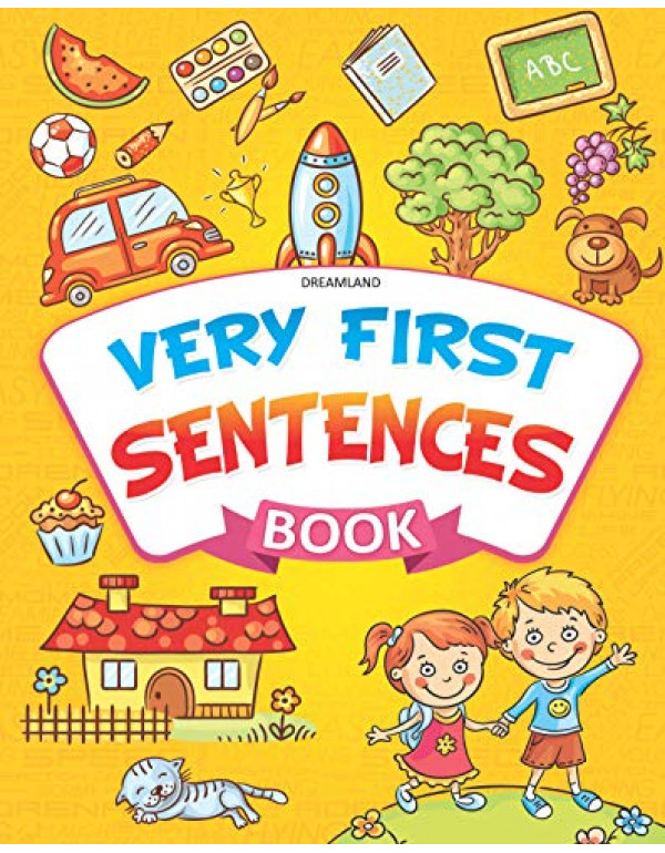 Very First Sentences Book  By Dreamland Publications  (9387971988) (9789387971981)