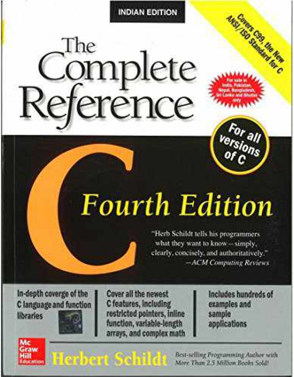 C: The Complete Reference By Schildt, Herbert