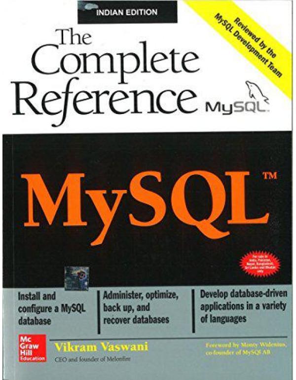 MySQL(TM): The Complete Reference By Vaswani, Vikram