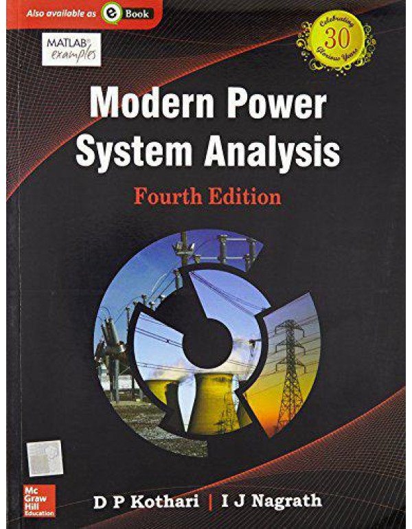 Modern Power System Analysis   4th Edition By Kothari, D.P.
