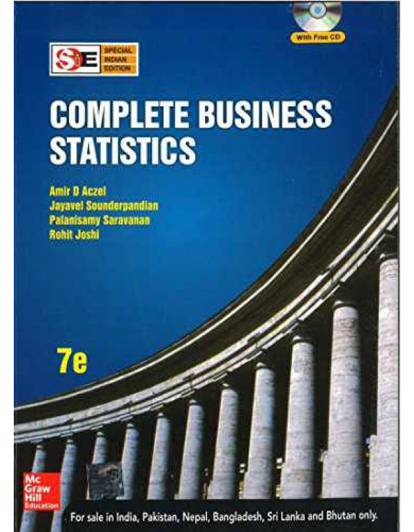 Complete Business Statistics   7th Edition By Aczel, Amir