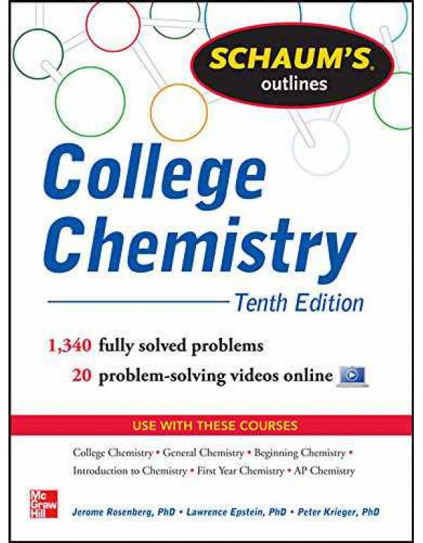 COLLEGE CHEMISTRY SCHAUM By Rosenberg, Jerome