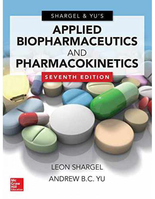APPLIED BIOPHARMACEUTICS & PHARMACOKINETICS By Shargel, Leon