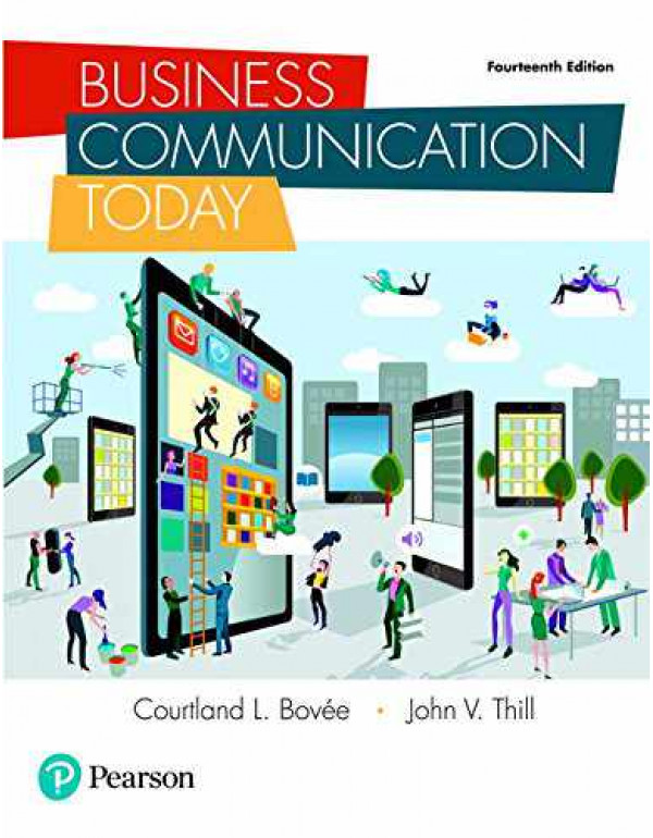 Business Communication Today  By Bovee, Courtland