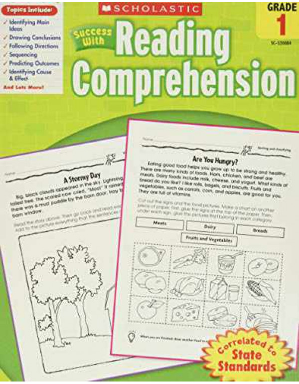 Scholastic Success with Reading Comprehension - Grade 1 By Robin Wolfe