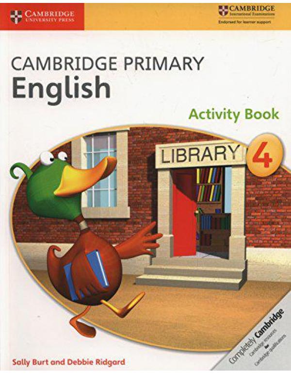 Cambridge Primary English Activity Book 4 By Burt, Sally
