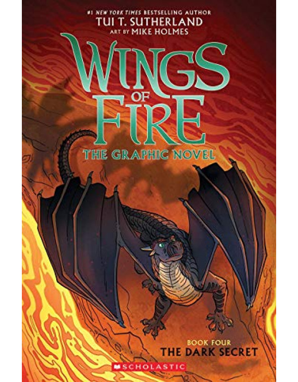 Wings of Fire #04: The Dark Secret by Tui T. Sutherland (1338344218) (9781338344219)