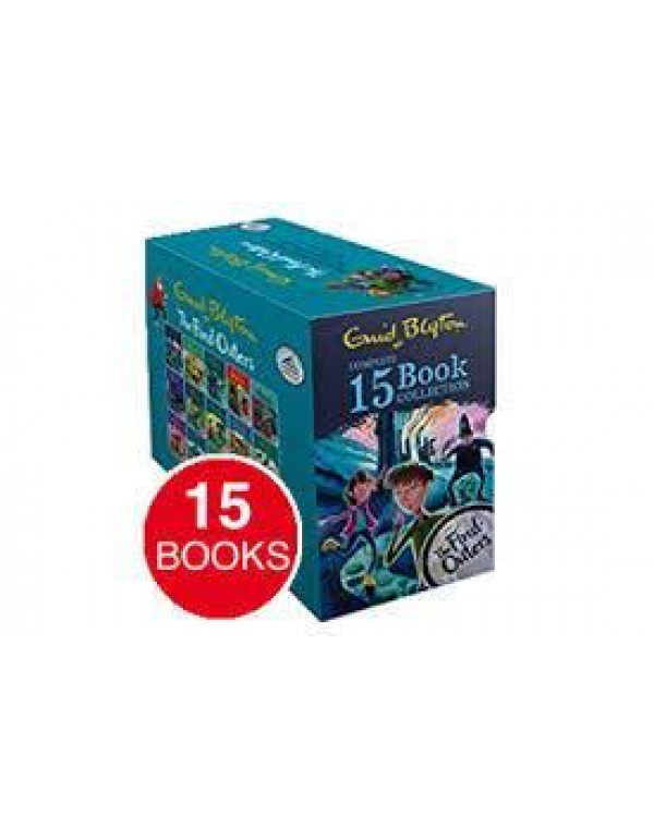 THE FIND OUTERS BOX SET OF 15 BOOKS By Enid Blyton