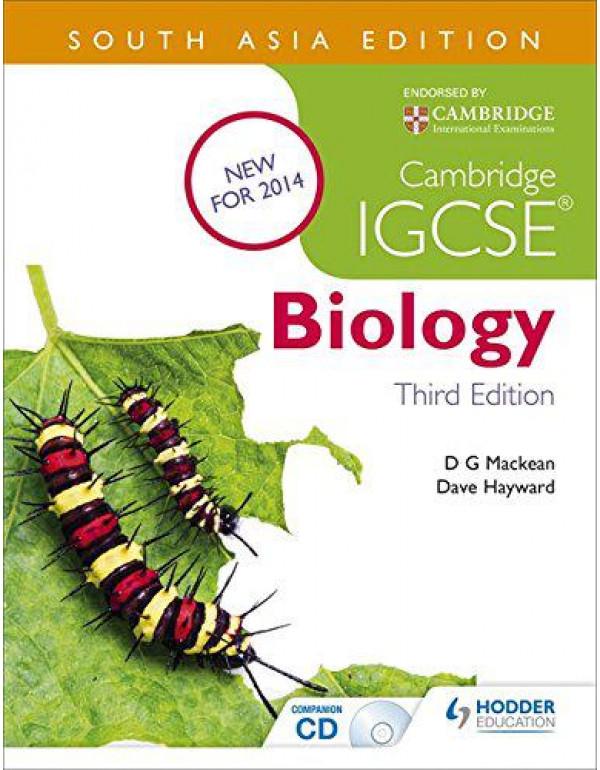 Cambridge IGCSE Biology 3rd Edition plus CD By Mackean, D. G.