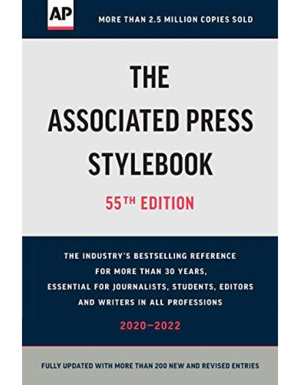 The Associated Press Stylebook: 2020-2022 (55th edition) By Press, Associated