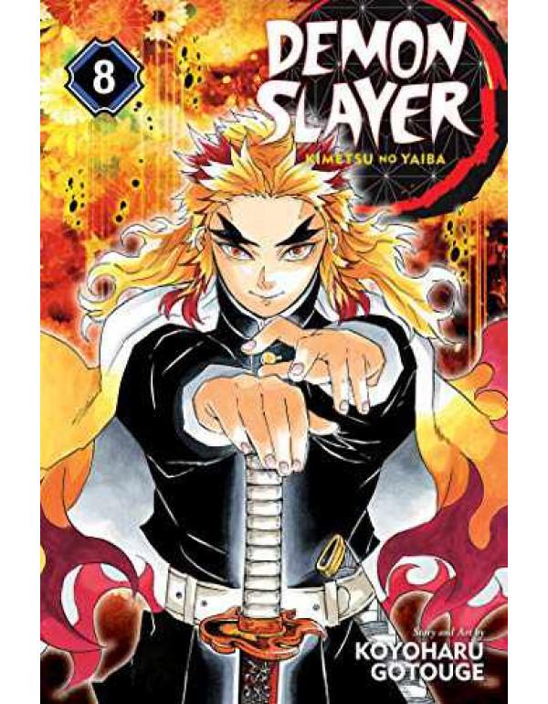Demon Slayer: Kimetsu no Yaiba, Vol. 8 (Volume 8): The Strength of the Hashira By Gotouge, Koyoharu