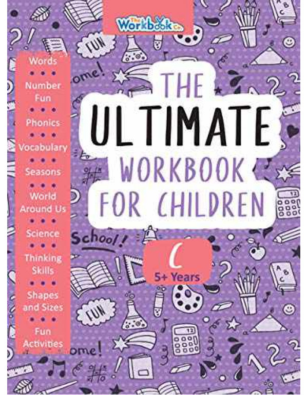 The Ultimate Workbook for Children 5-6 Years Old By Team Pegasus