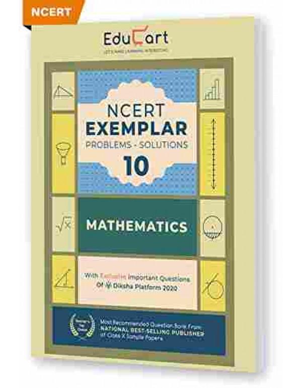 Educart NCERT Exemplar Maths Class 10 Problem Solutions (With Reduced Syllabus Chart For 2021) By Educart